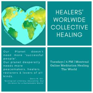 Healers' Worldwide Collective Healing @ Raw Healing