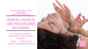 ONLINE Women Rebirth: 7 Workshops Series To Balance Your Chakras @ Raw Healing (Zoom Application online)