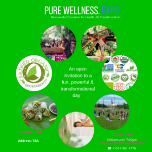 Pure Wellness. Expo Instagram